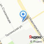 Специальная коррекционная общеобразовательная школа №3 V вида для обучающихся на карте Санкт-Петербурга