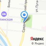 Цветы Экспресс на карте Санкт-Петербурга