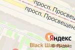 Схема проезда до компании Кладовая здоровья в Санкт-Петербурге