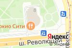 Схема проезда до компании Связной в Санкт-Петербурге
