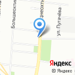 Адвокатская консультация №4 на карте Санкт-Петербурга