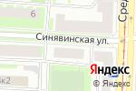 Схема проезда до компании ОхтаФорм в Санкт-Петербурге