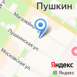 Нотариус Блотнер Н.Т. на карте Санкт-Петербурга