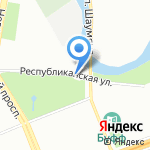Комплексный центр социального обслуживания населения Красногвардейского района на карте Санкт-Петербурга
