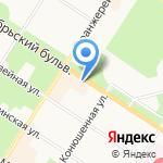 Интерс-Флора на карте Санкт-Петербурга