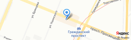 Швейные машины на карте Санкт-Петербурга