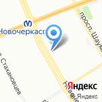 Канн на карте Санкт-Петербурга