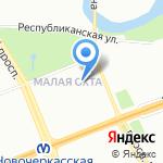 Детский сад №28 на карте Санкт-Петербурга
