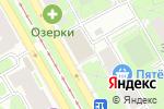 Схема проезда до компании Atelier365 в Санкт-Петербурге
