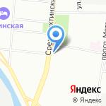 Quest adventure на карте Санкт-Петербурга