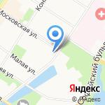 Детский сад №5 на карте Санкт-Петербурга