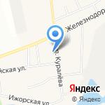 Парикмахерская на карте Санкт-Петербурга