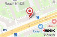 Схема проезда до компании Регион Плюс в Санкт-Петербурге