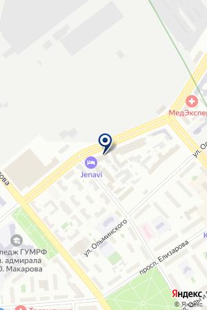 Папки СПБ на карте Санкт-Петербурга