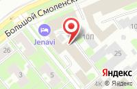 Схема проезда до компании Ока 1 в Санкт-Петербурге