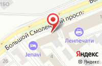 Схема проезда до компании Пласт-Футур в Санкт-Петербурге
