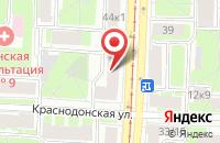 Схема проезда до компании КРИСТИН в Санкт-Петербурге