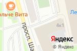 Схема проезда до компании Прорез в Санкт-Петербурге
