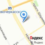 Магазин мяса на карте Санкт-Петербурга