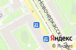 Схема проезда до компании Малоохтинская библиотека в Санкт-Петербурге