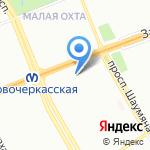 Мастерская по заточке маникюрного инструмента на карте Санкт-Петербурга