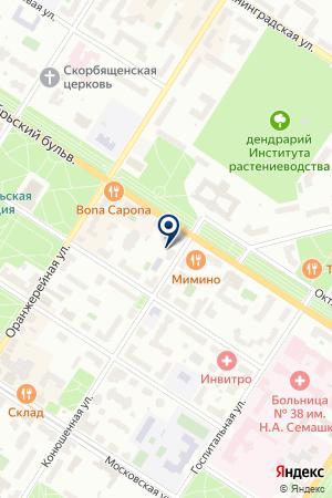 ОПТОВО-РОЗНИЧНАЯ ФИРМА ПРИРОДА на карте Пушкина