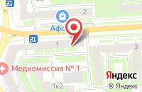 Схема проезда до компании Арс Лонга в Санкт-Петербурге