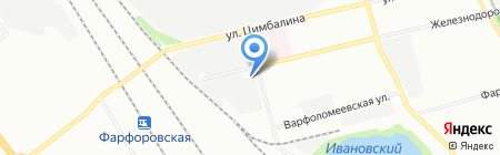 Орион кемикалс на карте Санкт-Петербурга