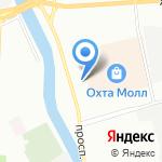 Градэкс на карте Санкт-Петербурга