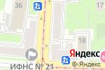 Схема проезда до компании Танд-1 в Санкт-Петербурге