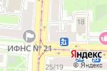 Схема проезда до компании Невская Оптика в Санкт-Петербурге