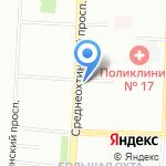 Магазин сувениров и посуды на карте Санкт-Петербурга
