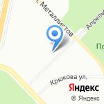 Учебно-методический центр по гражданской обороне на карте Санкт-Петербурга