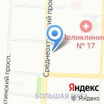 Барака на карте Санкт-Петербурга