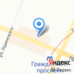 Дискаунт оптика на карте Санкт-Петербурга