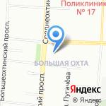 СтритГео на карте Санкт-Петербурга