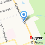 Элис на карте Санкт-Петербурга