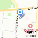 МебельСнабСПб на карте Санкт-Петербурга
