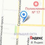 Централизованная бухгалтерия администрации Красногвардейского района на карте Санкт-Петербурга