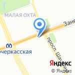 Фатима на карте Санкт-Петербурга