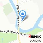 РЕХАУ на карте Санкт-Петербурга