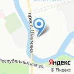 АФК-Аудит на карте Санкт-Петербурга