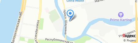 Петербургский Страховой Брокер на карте Санкт-Петербурга