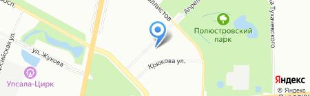 XLitera на карте Санкт-Петербурга