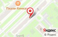 Схема проезда до компании Сектор в Санкт-Петербурге