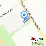 ЛитосСтрой на карте Санкт-Петербурга