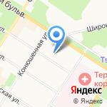 ЮРтренд на карте Санкт-Петербурга
