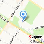 Отдел организационной работы и взаимодействия с органами местного самоуправления Администрации Пушкинского района на карте Санкт-Петербурга