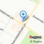 Магазин косметики на карте Санкт-Петербурга