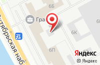 Схема проезда до компании Аура в Санкт-Петербурге